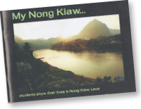 My Nong Kiaw book project completed by teens